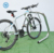 Triangular Loop Outdoor Carbon Steel Bike Floor Rack Stand for 7 bikes