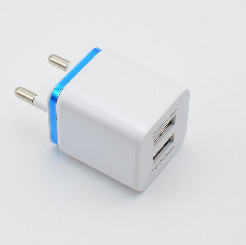 Amazon Best Selling 5V 2.1A 2 Ports Usb Wall Charger For Iphone