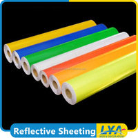 cheap cost new products fluorescent reflective vinyl
