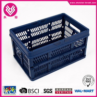 Low price houseware folding basket from China factory