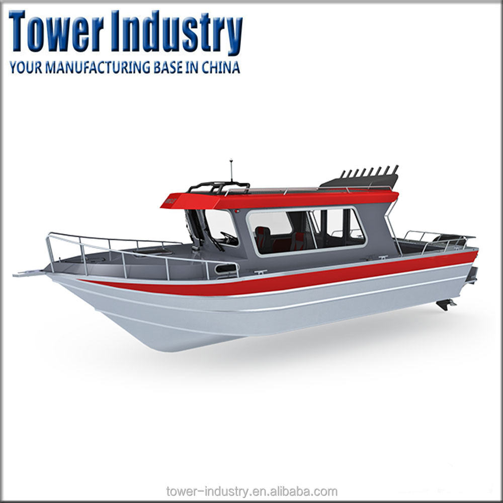 OEM China Manufacturer All Welded Fishing Aluminum Boat