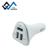 Guangzhou factoy hot sell portable dual usb port 2.1A OEM qc car charger for mobile phone