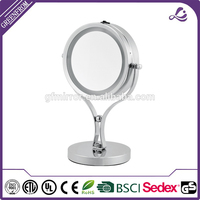 Toy italian design console table with mirror Bathroom smart cosmetic makeup mirror with lights