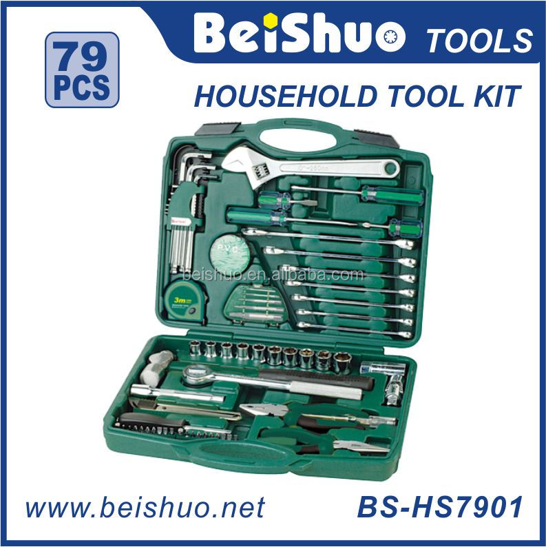 79pc Promotional Auto Repairing Tool Sets/Home Use Mixed Tool kit