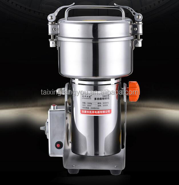 Spice Herb Salt Rice Coffee Bean Cocoa Corn Pepper Soybean Leaf Mill Powder Grinder Grinding Machine