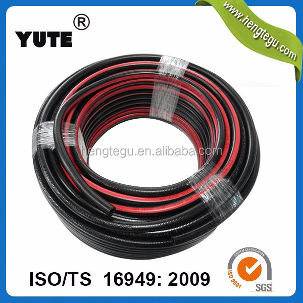factory supplier wp 20 bar bp 80 bar 5/16 inch textile braided rubber air hose