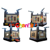 pirate bouncer, inflatable pirate bouncy castle, inflatable air jumper