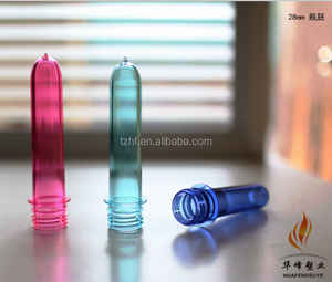 Hot sale plastic bottle preform with PET material(OEM acceptable)