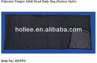 Turkey Style Polyester Pongee Adult Dead Body Bag