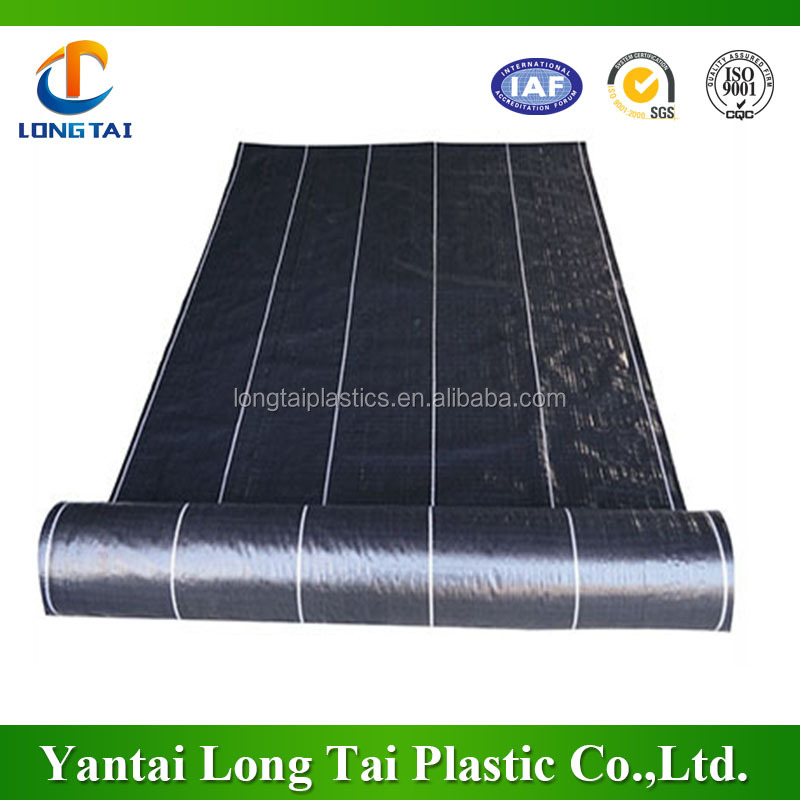Weed fabric Agriculture Black Weed Barrier/ground cover/Mulching Film