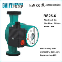 mini hot water pressure boosting circulation shield RS25 6 pump, wilo type pump