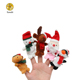 Stuffed Plush toy with Animal Finger Puppets