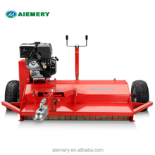 CE approved ATV120 cheap flail mower with 15hp lifan motor