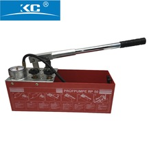 KC-TP50 plastic pipe hand pressure test pump for ppr , pe pipe