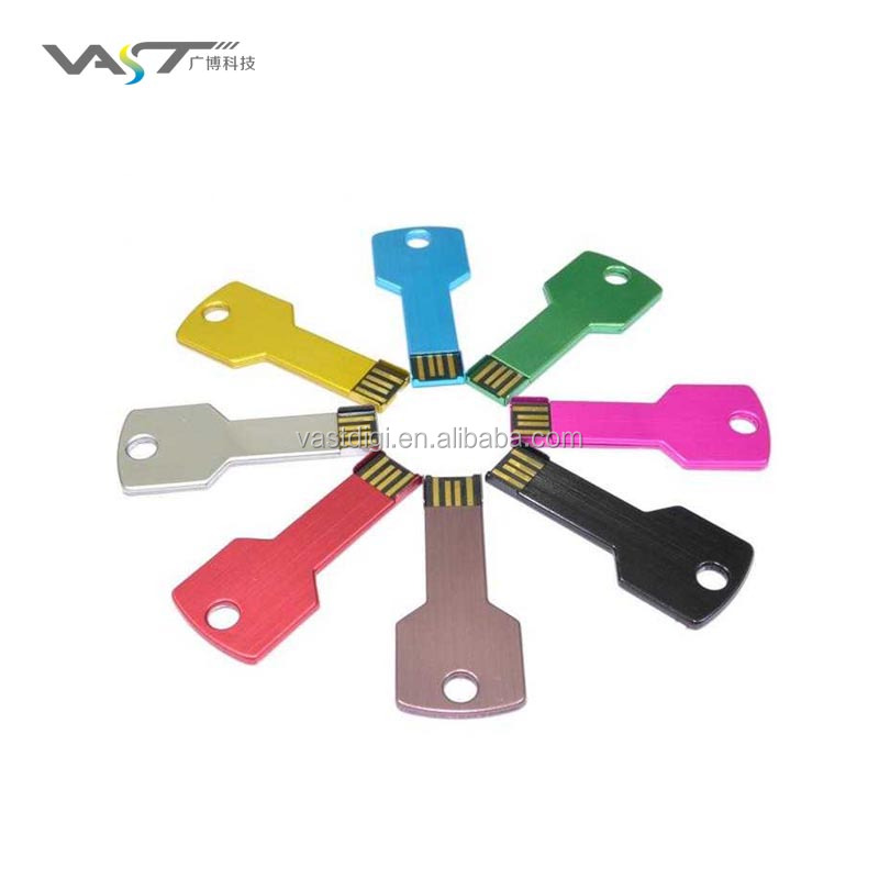 Promotional gift key shape usb flash drive custom usb flash drive VDM-008