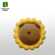 Colorful Sunflower Shape Soft Micro Beads Stuffed Seat Cushion Pillow