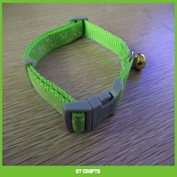 Pet Dog Collar Classic Solid Basic Polyester Nylon Dog Collar Made For Last, Matching Leash & Harness Available Separately