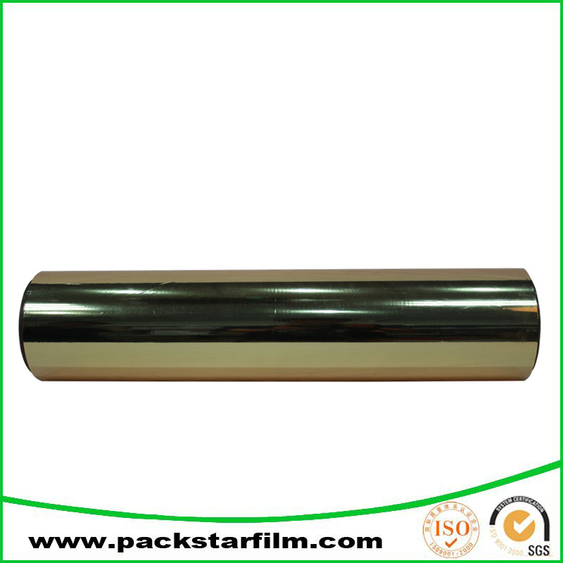 factory wholesale metalized pet film for food packaging