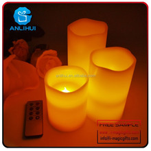 Walmart Vendor Remote Control Flameless LED Candle