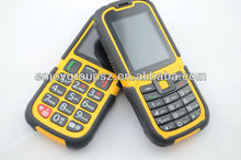 outdoor dual sim ip67 waterproof cheap square shape mobile phone