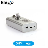 Wholesale e cigarette Cartomize/atomizer ohm meter, ohm meter for 510/ego tanks