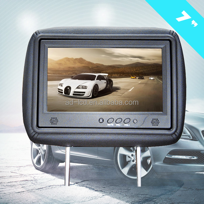 7 inch lcd advertising player 7 inch taxi headrest tv lcd display