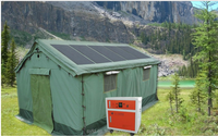 Solar Power Tents for Tent disaster relief, military useing, camping