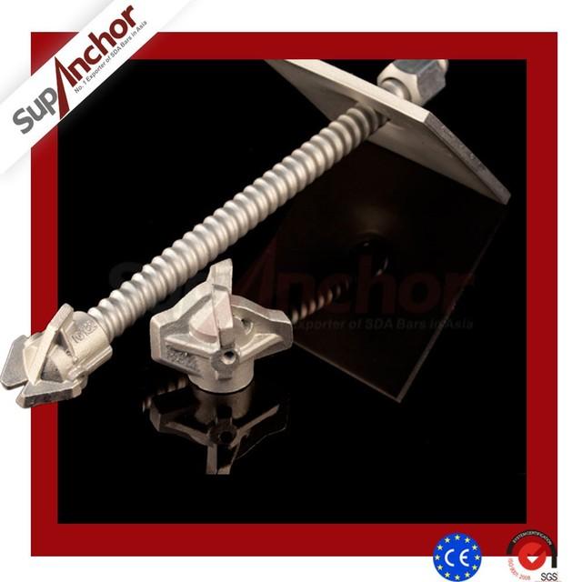 SupAnchor Trade Assurance Face Stabilization Mining T40 Thread Anchor Bolt Bar