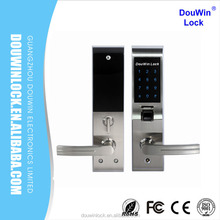 Electric heavy duty door lock biometric qr code door lock
