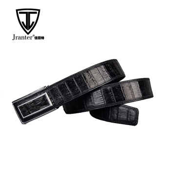 High Quality China Manufacturer Handmade Genuine Crocodile Leather Belts For Men