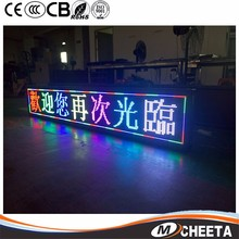 Desktop Led Table Screen Mini Led Display,Message Moving Led Display Screen For Advertising