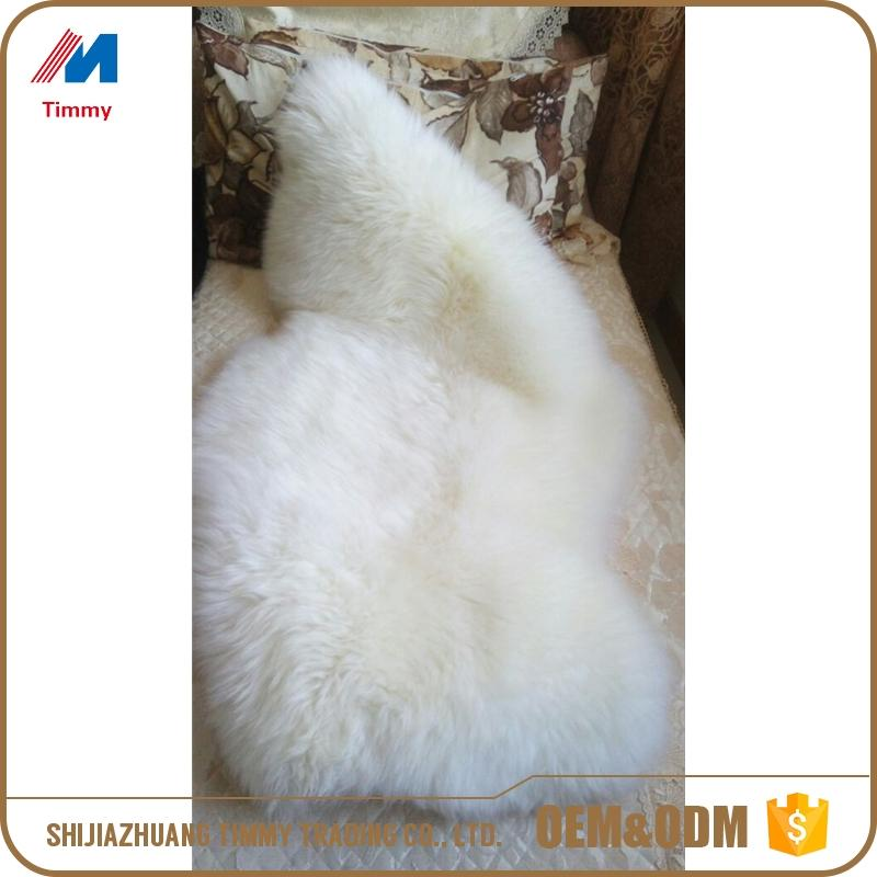 long hair lamb wool rug with low price