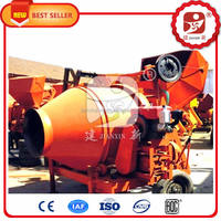 Quality primacy JZC350 electric/diesel engine portable cement concrete mixer in Malaysia for sale with CE approved