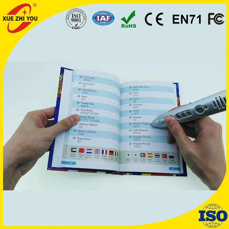 Hot Selling Digital Pen Portable Cool Translating pen 14 Languages Travelling Professional Learning Machine