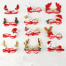 Santa Claus, snowman, antle christmas novelty funny glasses