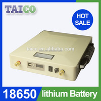High Capacity Outdoor 12v 30ah ups battery Protable Li ion with Battery Charger