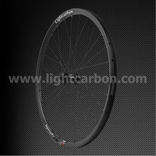 "2014 LIGHTCARBON 29"" MTB pro fixed gear bike wheelset pillar spoke cross country mountain carbon aero wheels"
