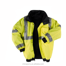 HI VIS SAFETY COAT/UNIFORMS WITH GOOD QUALITY ANSI safety reflective vest for safety work