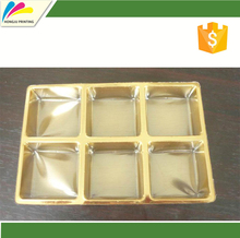 China cheap custom top grade plastic packaging bread cake snack chocolate macarons PET PP food blister tray