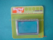 stamp and ink pad