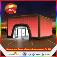 Cube inflatable air structure,inflatable buildings, inflatable cube tent for event