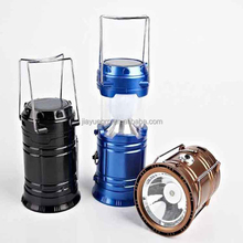 Top selling Solar Panel rechargeable lamp led solar camping lantern wholesale2016