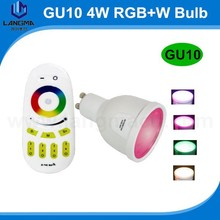 2.4G wireless touch screen remote control rgb led bulb wifi bulb
