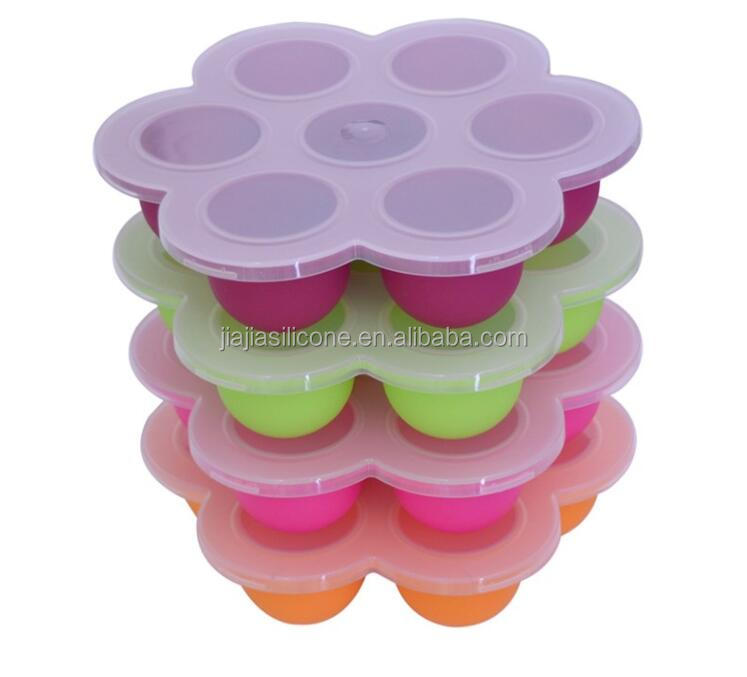 Silicone Baby Food Freezer Tray Food Storage,BPA Free & FDA Approved, For Homemade Baby Food, Vegetable