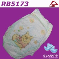 High Quality Free Samples Breathable Film Baby Diaper Manufacturer with BD5173 from China