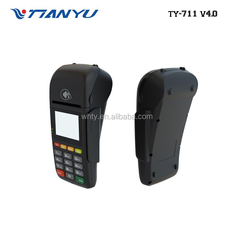 Mobile EFT POS Payment Terminal MPOS TYHESTIA 711 V4.0 tablet android