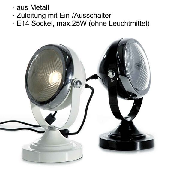 Exceptional 25W European Style Black Motorcycle Table Lamp, 8008 5 2