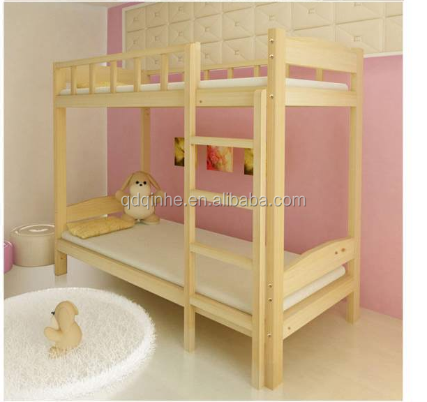 import natural material pine specification of bunk bed