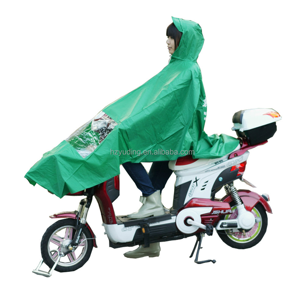 High Quality Polyester Motorcycle Poncho Cheap Raincoat Wholesale Rain suit For Adult
