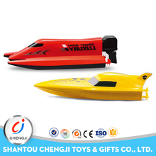 Credible quality high speed summer toy plastic rc jet boat toy